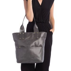 HOBO Large Charcoal Gray Pocketbook